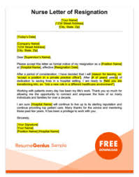 template letters of resignation resignation letter sles free downloadable letters
