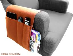 Sofa Control Felt Sofa Organizer Pocketed Armrest Organizer Newspaper