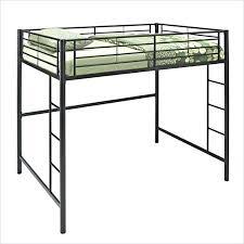 Bunk Bed Metal Frame Metal Loft Bed Dotboston Co