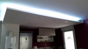 bande led cuisine bandeau led faux plafond cuisine photos forum sur les led
