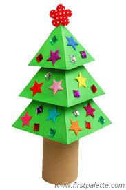 3d paper tree craft crafts firstpalette