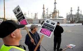 Refineries In Usa Map by Workers Strike At California Oil Refinery Al Jazeera America