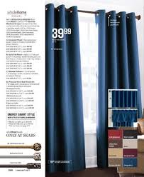 Sears Drapery Panels Panels And Curtains Within Large Home Sale
