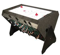 3 in one pool table 3 in 1 rotating table foosball pool and air hockey