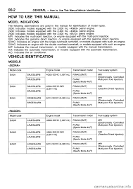 100 mitsubishi galant workshop automatic transmission manual