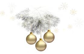 free christmas silver and gold ornament clipart free free