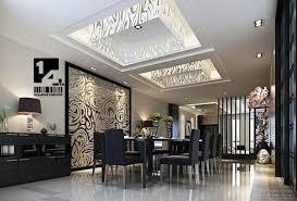 Designer Dining Room Gray Dining Room With Gray Medallion - Modern dining rooms ideas