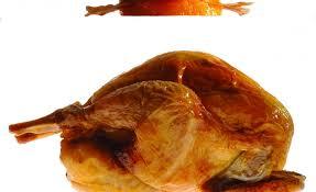 cuisiner une poule faisane poule faisane à la broche gratin de potiron au lard par alain ducasse