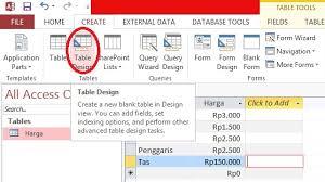 membuat query tabel tutorial menggunakan microsoft office access 2013 phiami