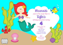storage grace little mermaid 4th birthday party
