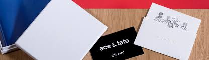 half gift cards gift cards gift wrapped and shipped within 1 week ace tate