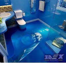3d bathroom flooring 3d dolphin flooring and photo printing on floors