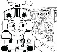 free thomas the train coloring pages to print toddlers printable
