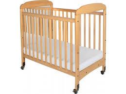 serenity fixed sides crib mirror w mattress fnd 300m daycare cribs