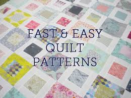 fast and easy quilt patterns right here on craftsy