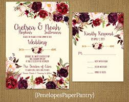 invitation wedding rustic fall wedding