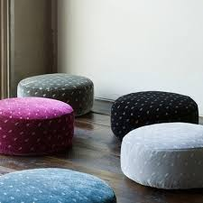 stools and ottomans like moroccan poufs popsugar home