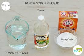 Unclog Bathtub With Baking Soda How To Unclog A Drain Fix It In No Time Fab How