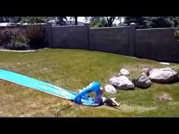 Backyard Slip N Slide Child Doesn U0027t Know How To Use Slip U0027n U0027 Slide Jukin Media