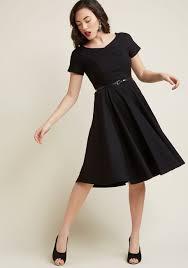 midi dress back to classic sleeve midi dress modcloth
