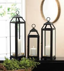 home decor lanterns lean u0026 sleek candle lantern l wholesale at koehler home decor