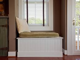 Built In Bookshelves With Window Seat How To Build A Window Bench Seat How Tos Diy