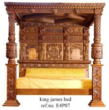 the baronial tudor four poster bed beds u0026headboards pinterest