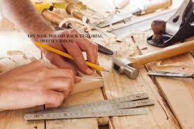 diy nail polish rack tutorial easy steps u0026 video designs authority