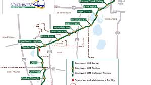 Light Rail Map Minneapolis Light Rail Project A Heavyweight State Issue Controversy Over