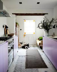 Best Kitchen Cabinets For Resale Risking Resale Value Modern Violet Cabinets In An 1857 Kitchen Wsj