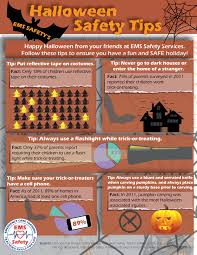 halloween safety tips have a safe halloween ems safety services inc
