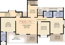 Sobha Jasmine Floor Plan Bhandari 7 Plumeria Drive Tathawade Property Megamart