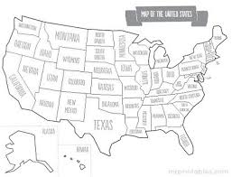 map usa with names gallery printable map usa state names quotes