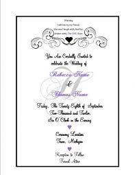 what to put on a wedding invitation amazing what do you put in a wedding invitation images images