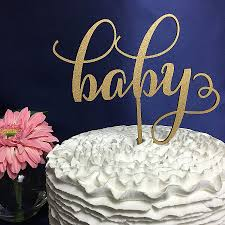 gold cake topper baby shower cakes new baby shower cake for boy and girl baby
