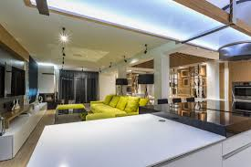 awesome large open space in contemporary home poland loversiq