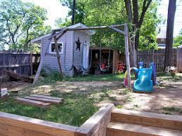 easy backyard ideas diy budget backyard and deck makeover concrete masonry decks