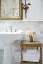 Pictures Of Pedestal Sinks In Bathroom by Details The Perfect Pedestal Sink French Country Cottage