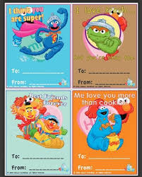 elmo valentines free printable s day cards for preschoolers