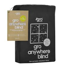 the gro company gro anywhere blackout blind black blackout