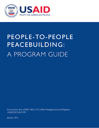 people to people peacebuilding a program guide peace exchange