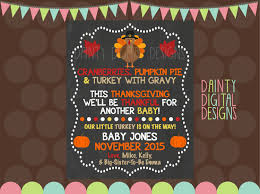 printable blue thanksgiving baby cards with unique design turkey