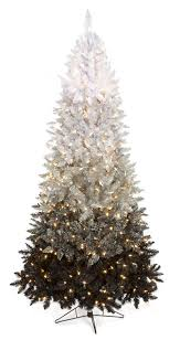 wholesale ombre tinsel tree with led lights artificial tinsel trees