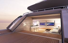Exotic Theme Heesen Presents 42m Project Cayman Yacht Harbour