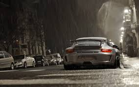 rwb porsche iphone wallpaper cars night porsche 911 gt3 rain vehicles walldevil
