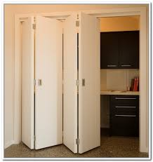 Bi Fold Doors Closet Two Connected Bifold Closet Doors Bedroom Pinterest Closet