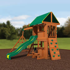 Sears Backyard Playsets Somerset Wooden Swing Set Playsets Backyard Discovery
