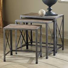 Rustic End Tables Rustic End Tables Side Tables Hayneedle