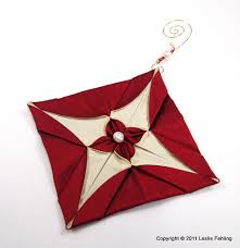 everyday artist silk origami ornaments