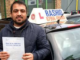 jawad passes his manual car driving test at chertsey driving test